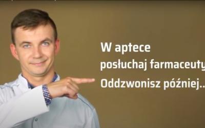 Janusz w aptece cz. 1 – rozmowa przez telefon