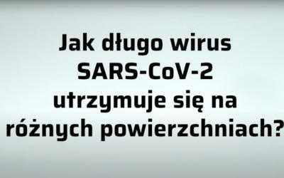 Trwałość wirusa SARS-CoV-2