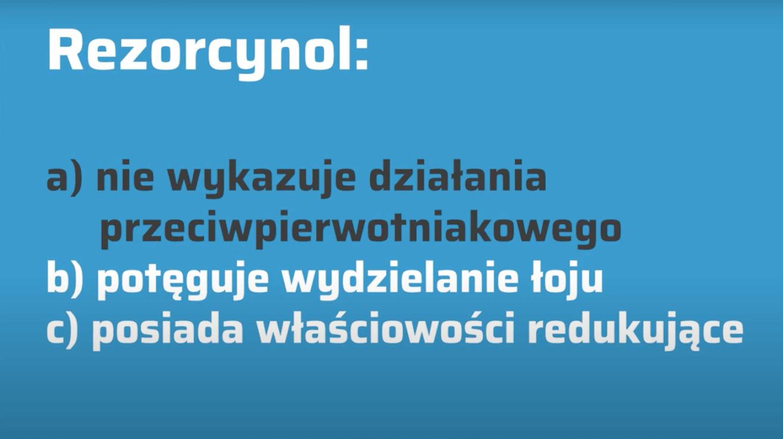 Surowce recepturowe – rezorcynol