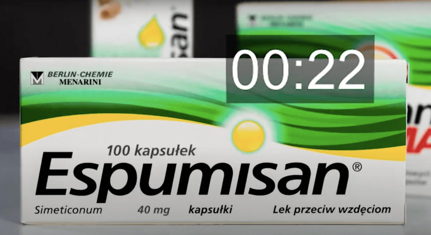 Espumisan – 30 sekund o leku