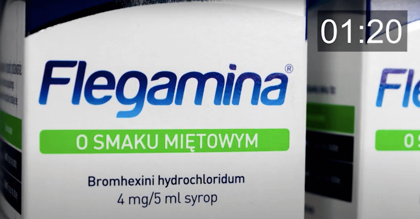 Flegamina – 30 sekund o leku