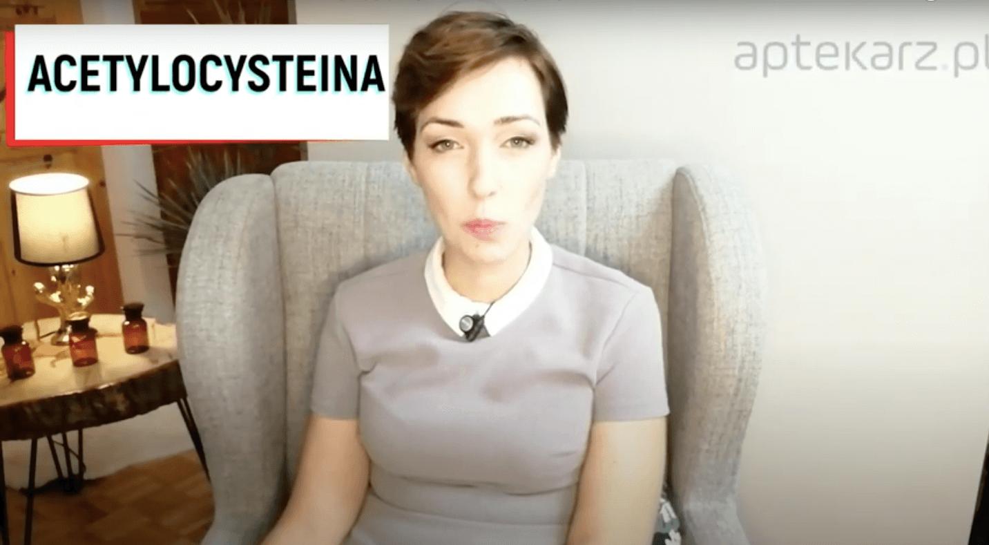 Acetylocysteina – powtórka z farmakoterapii, szczególne grupy pacjentów