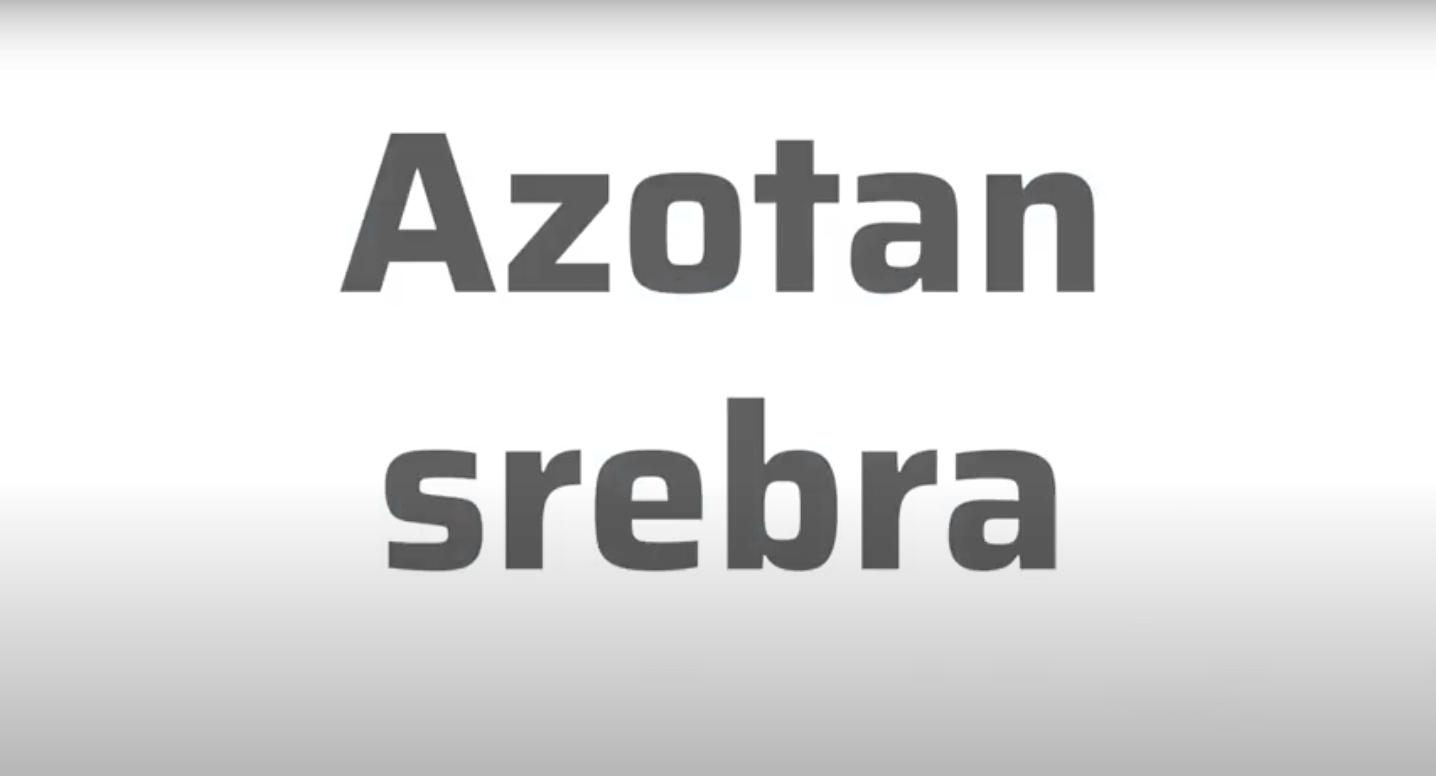 Surowce recepturowe – azotan srebra