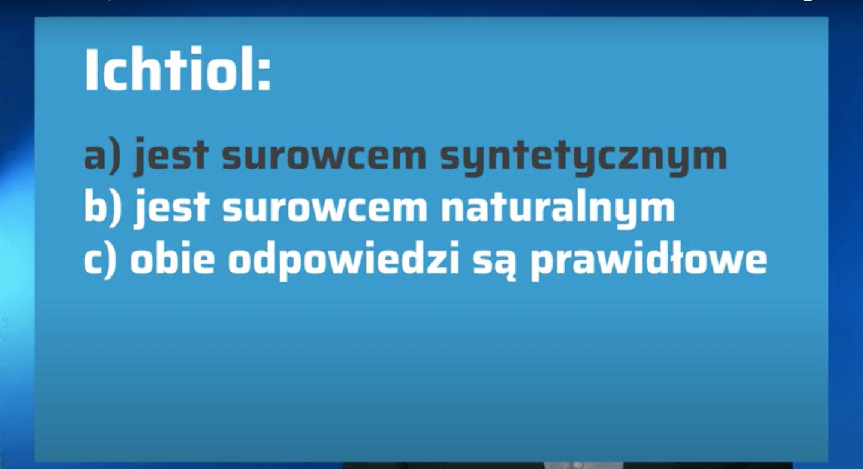 Surowce recepturowe – ichtiol