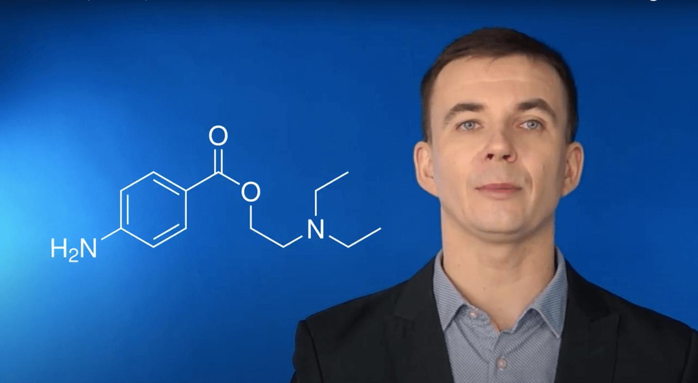 Surowce recepturowe – prokaina