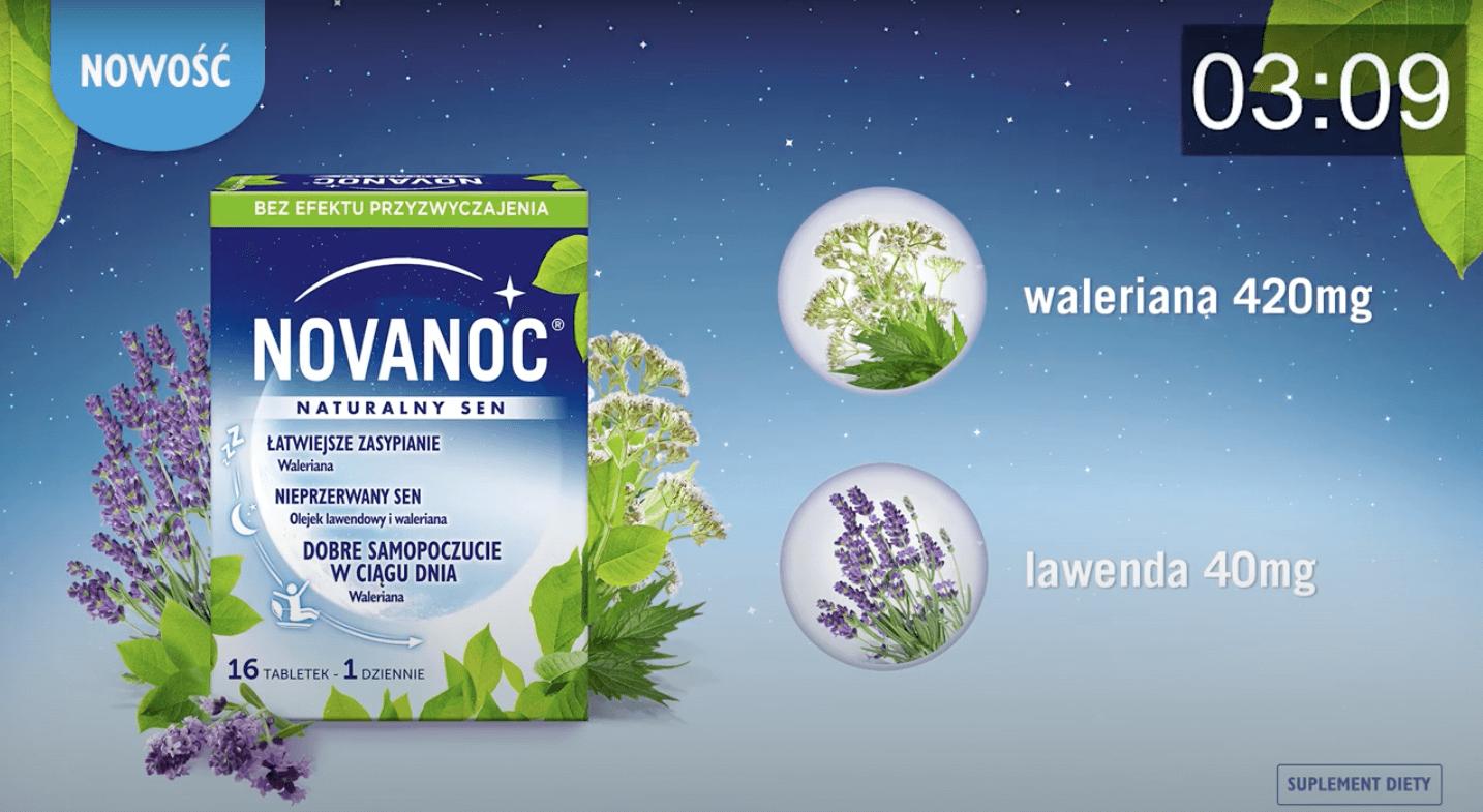 Novanoc Naturalny Sen – 30 sekund