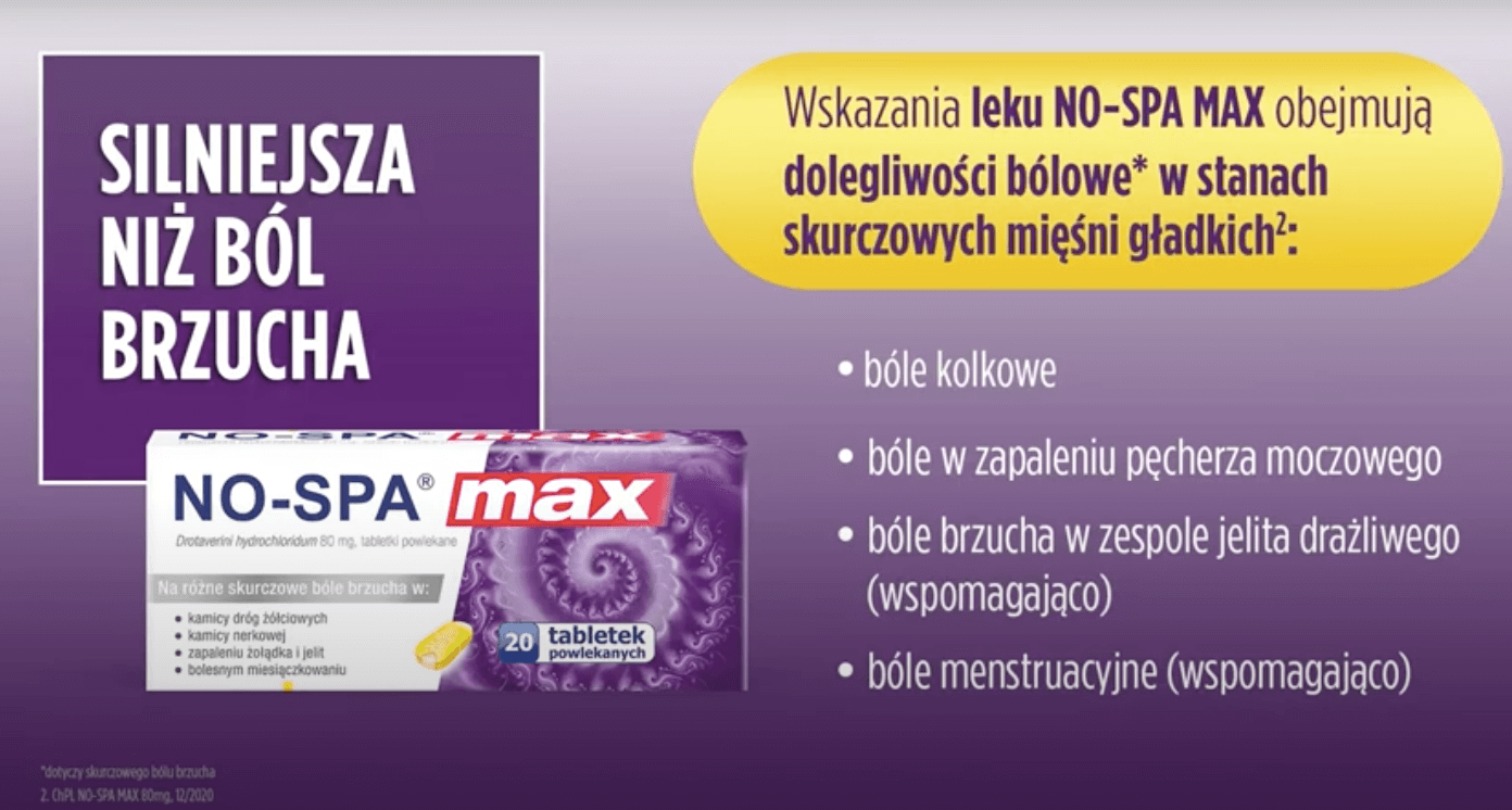 No-Spa Max – 30 sekund