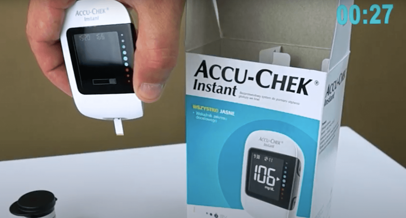 Glukometr Accu-Chek Instant – 30 sekund