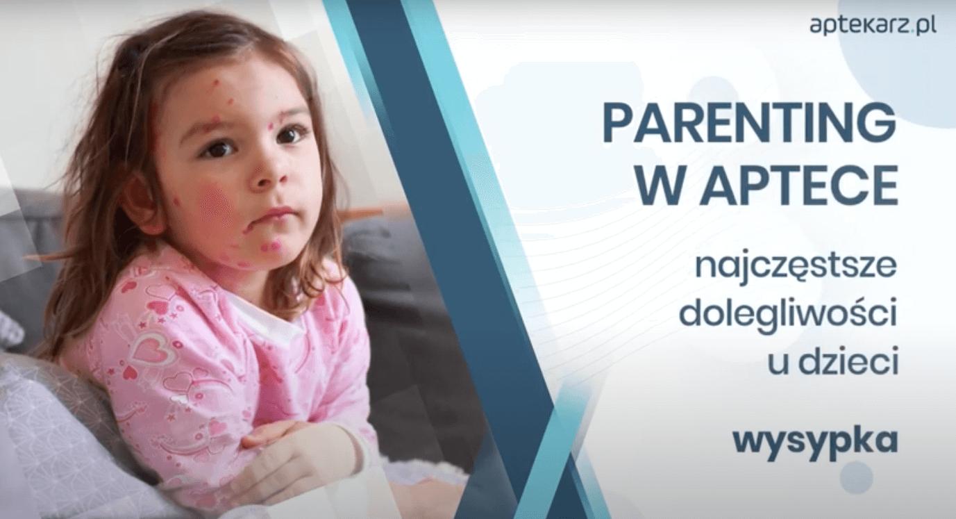Parenting w aptece – najczęstsze dolegliwości u dzieci: wysypka