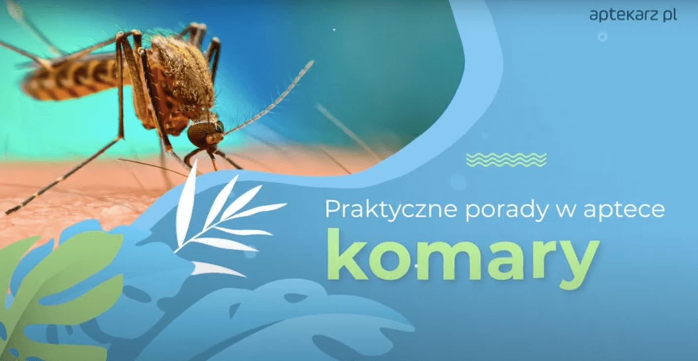Praktyczne porady w aptece: komary