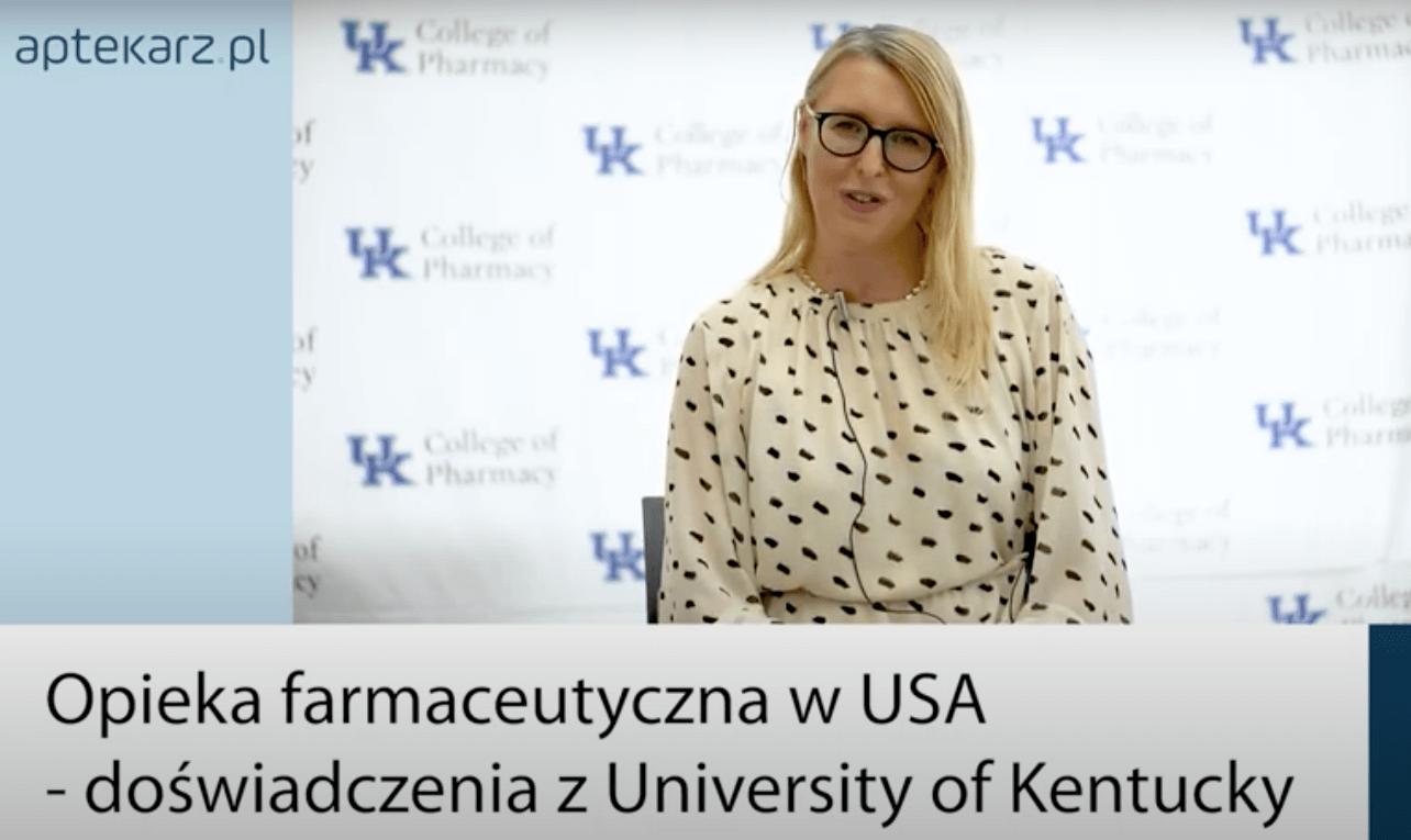 WEBINAR: Opieka farmaceutyczna w USA – doświadczenia z Kentucky