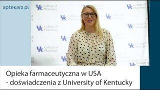 WEBINAR: Opieka farmaceutyczna w USA - doświadczenia z Kentucky