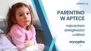 Parenting w aptece - najczęstsze dolegliwości u dzieci: wysypka