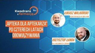 #13 Kwadrans z farmacją  - Krzysztof Łanda