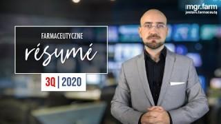 Farmaceutyczne résumé z MGR.FARM 3Q | 2020
