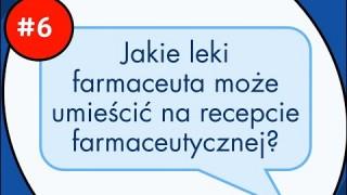 Jakie leki farmaceuta może umieścić na recepcie farmaceutycznej?